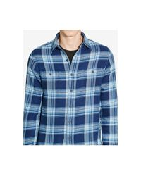 Polo Ralph Lauren - Blue Men's Indigo Plaid Workshirt for Men - Lyst