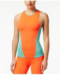 Adidas Originals | Green Stellasport Colorblocked Tank Top | Lyst