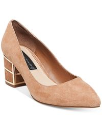 Steven by Steve Madden | Natural Buena Pointed-toe Pumps | Lyst