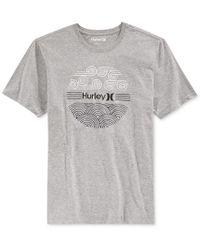 Hurley - Gray Men's Windward Premium Graphic-print T-shirt for Men - Lyst