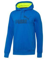 PUMA | Blue Men's T7 Drycell Fleece Hoodie for Men | Lyst