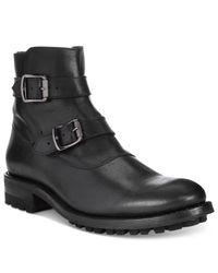 Frye - Black Men's Stanton Motto Boots for Men - Lyst