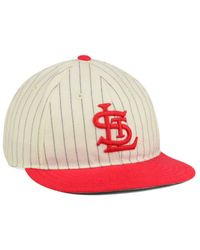 American Needle Red St. Louis Cardinals Am Infield Cap for men