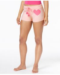 Betsey Johnson | Pink Cozy Sweater Shorts | Lyst