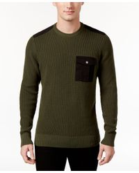 American Rag | Green Men's Uniformity Sweater, Only At Macy's for Men | Lyst