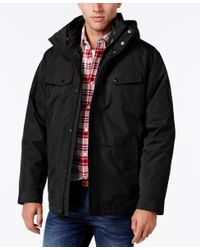 Izod | Black Men's Systems Ski And Snowboard Jacket for Men | Lyst