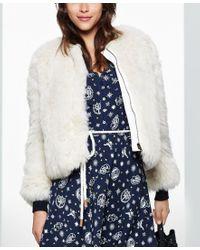 Tommy Hilfiger | Multicolor Tommyxgigi Faux-fur Jacket, Only At Macy's | Lyst