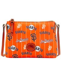 Dooney & Bourke | Orange San Francisco Giants Nylon Crossbody Pouchette | Lyst