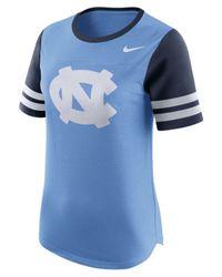 Nike   Blue Women's North Carolina Tar Heels Gear Up Modern Fan T-shirt   Lyst