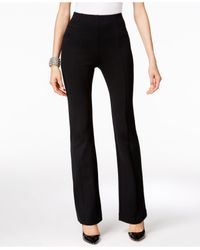 INC International Concepts | Black Pull-on Bootcut Pants, Only At Macy's | Lyst