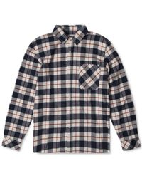 Rip Curl | Blue Men's Long-sleeve Countdown Flannel Shirt for Men | Lyst