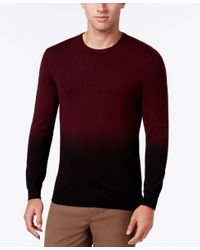 Vince Camuto | Red Men's Dip-dyed Sweater for Men | Lyst