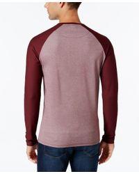 Vince Camuto | Multicolor Men's Mesh Raglan-sleeve T-shirt for Men | Lyst