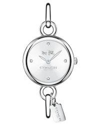 COACH - Metallic Delancey Stainless Steel Bracelet Watch - Lyst