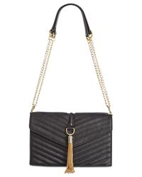 INC International Concepts | Black Yvvon Crossbody, Only At Macy's | Lyst