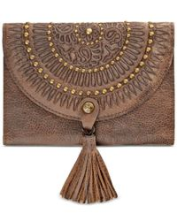 Patricia Nash   Red Distressed Vintage Colli Wallet   Lyst
