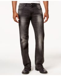 INC International Concepts - Men's Gray Wash Stretch-denim Jeans, Only At Macy's for Men - Lyst