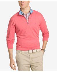 Izod | Pink Men's Hampton Quarter-zip Shirt for Men | Lyst