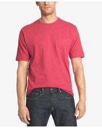 Izod | Blue Men's Double Layer Pocket T-shirt for Men | Lyst