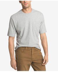 Izod | Gray Men's Double Layer Pocket T-shirt for Men | Lyst