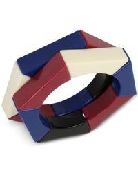 INC International Concepts | Blue Iris X 2-pc. Set Colorful Acrylic Hexagon Stretch Bracelets, Only At Macy's | Lyst