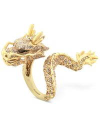 Effy Collection | Metallic Effy Diamond Dragon Ring (1 Ct. T.w.) In 14k Gold | Lyst