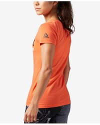 Reebok - Orange Crossfit Forging Elite Fitness T-shirt - Lyst