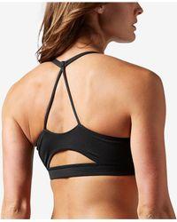 Reebok - Black Workout Ready Light-impact Tri-back Sports Bra - Lyst