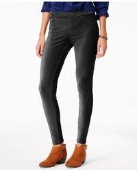 Hue | Black Corduroy Leggings | Lyst