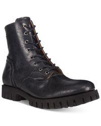 DIESEL | Black Men's Kross D-line Boots for Men | Lyst