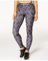 PUMA | Black Drycell Printed Leggings | Lyst