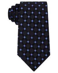 Michael Kors | Black Michael Men's Satin Neat Tie for Men | Lyst
