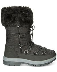 BEARPAW White Boetis II Cold Weather Wool-Blend Boots
