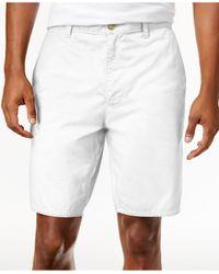 American Rag   White Men's Stretch Twill Short for Men   Lyst