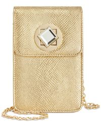 INC International Concepts | Metallic Phone Clutch Crossbody, Only At Macy's | Lyst