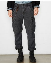 Denim & Supply Ralph Lauren | Black Slim-fit Field Cargo Pant for Men | Lyst