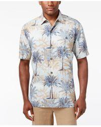 Tommy Bahama | Blue Men's Sol Palmera Silk Shirt for Men | Lyst