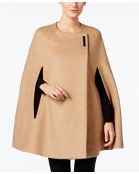 Alfani - Natural Hardware Cape Coat, Only At Macy's - Lyst
