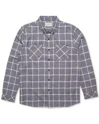 Rip Curl | Gray Men's Gridlock Woven Shirt for Men | Lyst