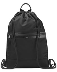 Michael Kors | Black Men's Kent Flat Drawstring Backpack | Lyst