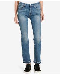 Denim & Supply Ralph Lauren | Blue Madison Crop Flared Jeans | Lyst