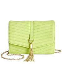 INC International Concepts | Green Mini Yvonn Crossbody, Only At Macy's | Lyst