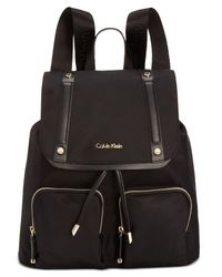 CALVIN KLEIN 205W39NYC - Black Teodora Cargo Backpack - Lyst