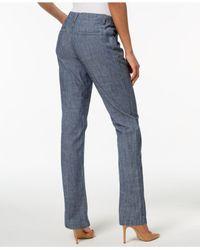 Lee Platinum Blue Tailored Chino Pants