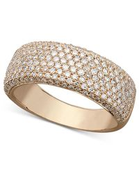 Effy Collection - Metallic Trio By Effy Diamond Diamond Pave Ring (1 Ct. T.w.) In 14k White, Yellow Or Rose Gold - Lyst
