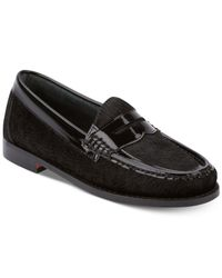 G.H. Bass & Co. - Black Women's Weejuns Whitney Penny Loafers - Lyst
