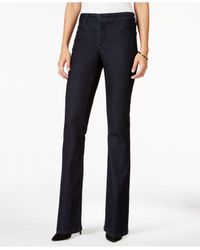 NYDJ Blue Billie Tummy-control Mini Bootcut Jeans