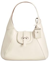 Dooney & Bourke - Natural Toscana Stitch Hobo - Lyst