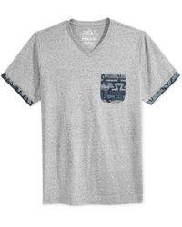 American Rag | Gray Men's Printed Pocket T-shirt, Only At Macy's for Men | Lyst