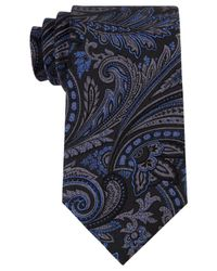 Michael Kors | Black Michael Men's Creston Paisley Tie for Men | Lyst